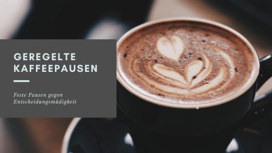 Bild Kaffeepause